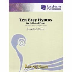 Ten Easy Hymns for Cello and Piano/Organ