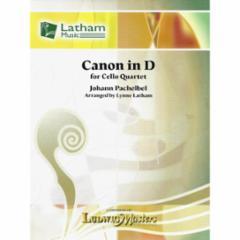 Canon in D for Cello Quartet