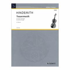 Trauermusik for Violin and Organ
