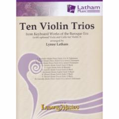 Ten Violin Trios