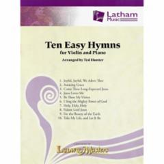 Ten Easy Hymns for Violin