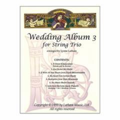 The Wedding Album III For String Trio