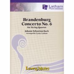 Brandenburg Concerto No.6 for String Quartet