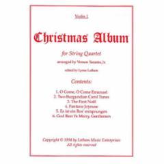 Christmas Album for String Quartet