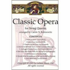 Classic Opera for String Quartet