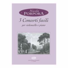 3 Concerti facili for Cello and Piano