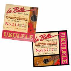 La Bella Ukulele Folk Strings