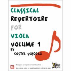 Classical Repertoire for Violin: Volume 1
