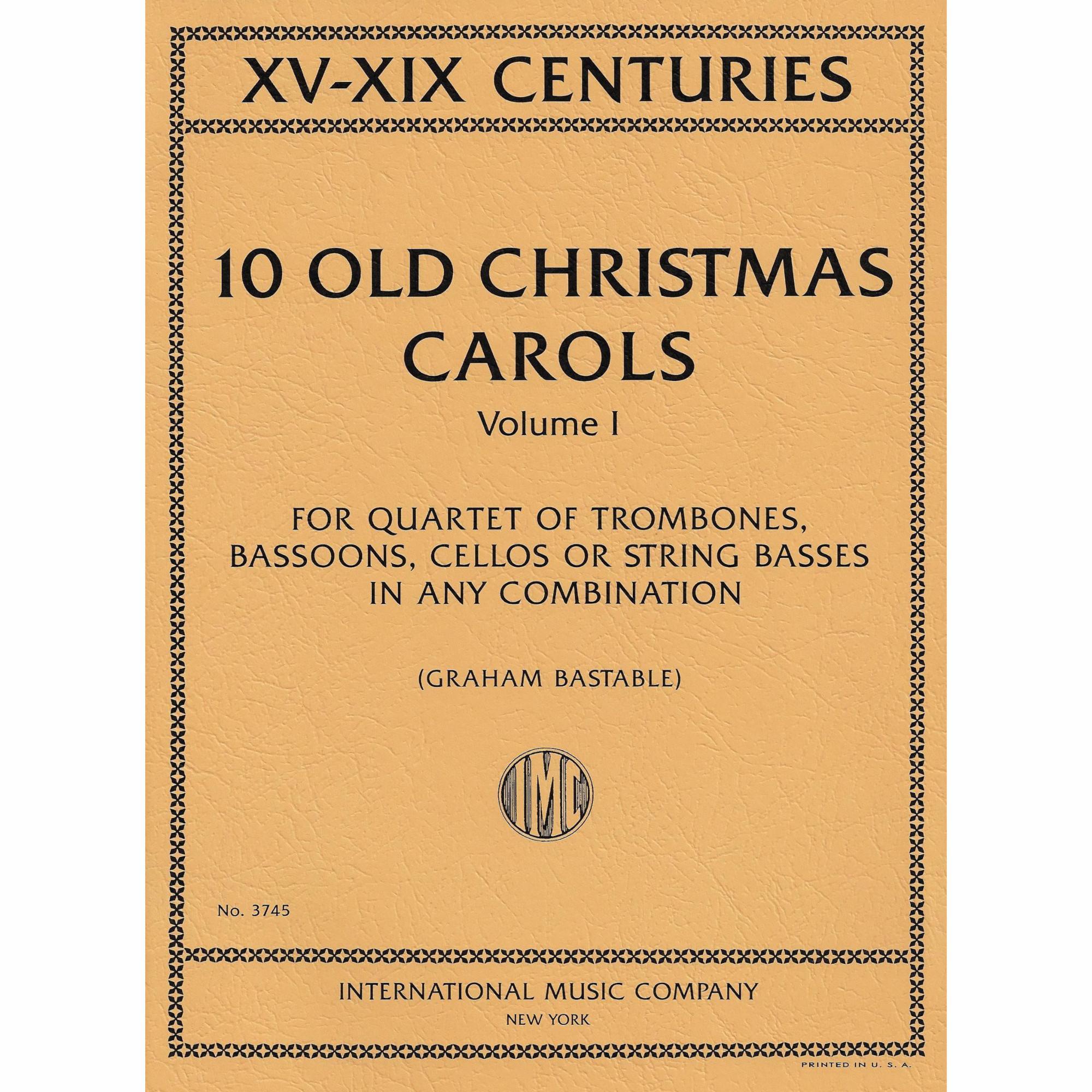 Ten Old Christmas Carols for Cellos | Southwest Strings